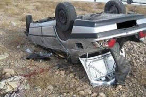 پنج مصدوم در سانحه رانندگی در اهر