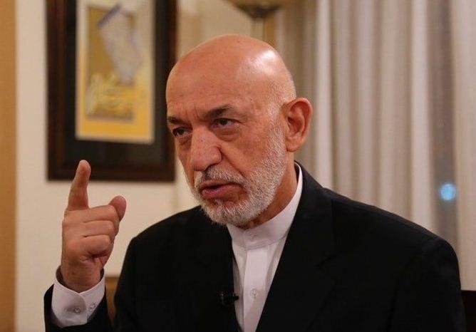 کرزی: آمریکا روستاهای افغانستان را بمباران کرد